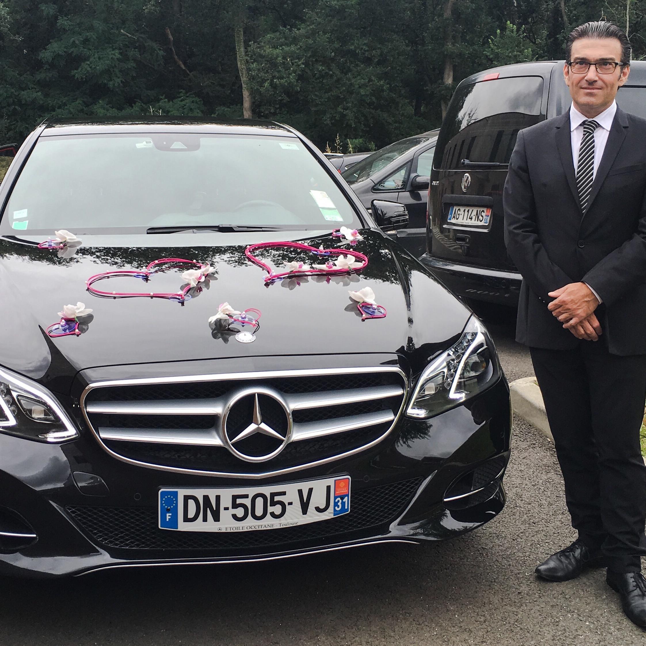 Réservez votre Chauffeur-Privé / VTC pour votre prochain Mariage autour de Toulouse