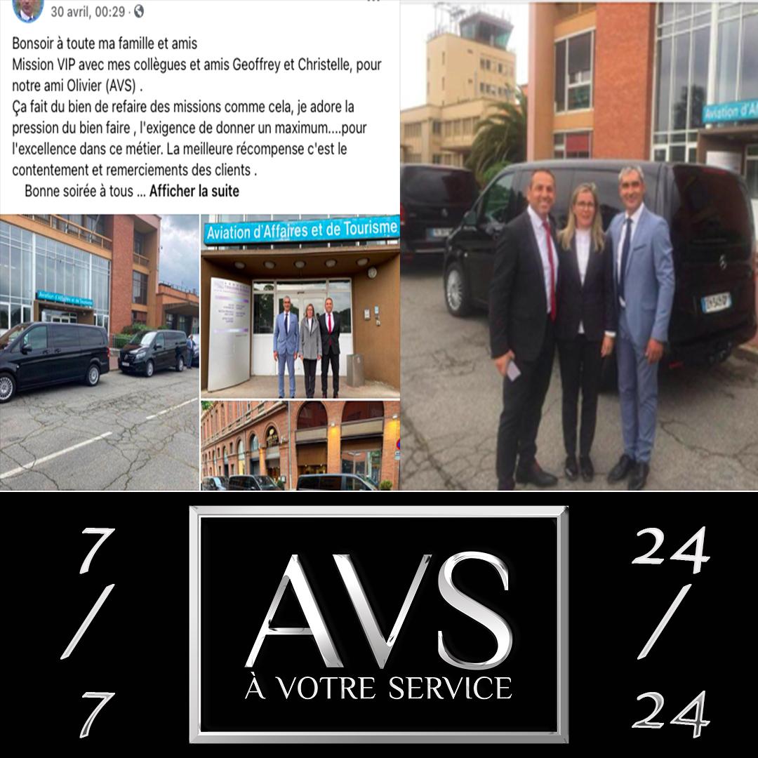 La fuerza de una red de conductores privados / VTC en Toulouse y en toda Francia y en el extranjero